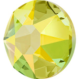 stock image of citrine Shimmer in Hotfix Swarovski Crystals
