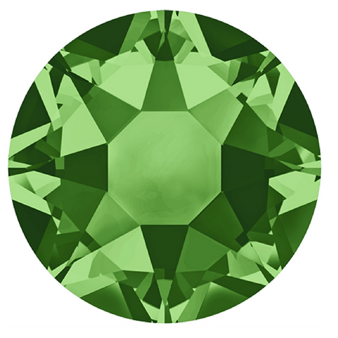 Swarovski® crystal - Hotfix - Article 2078 - FERN GREEN - 3 sizes available