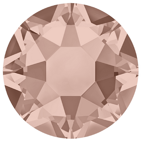 stock image of Vintage Rose coloured Hotfix crystals from Swarovski