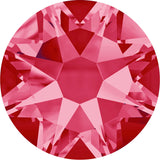 Swarovski® crystal - No Hotfix - Article 2088 - INDIAN PINK - 5 sizes available