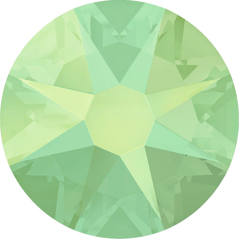 stock image of Swarovski article 2088 Xirius Rose in Chrysolite Opal colour
