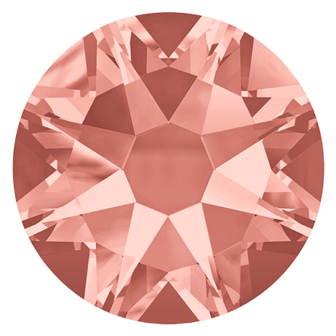 Swarovski® crystal - No Hotfix - Article 2088 - ROSE PEACH - 5 sizes available