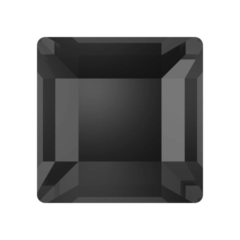stock photo of Swarovski Square Flat Backs Article 2400 colour is Crystal Silver Night