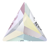 Swarovski® crystal - Hotfix - Article 2720 - COSMIC TRIANGLE - CRYSTAL AB - 7.5 mm
