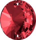 Swarovski® crystal - Article 3200 - RIVOLI - SCARLET - 10 mm