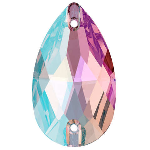 Swarovski® crystal - Article 3230 - DROP - LIGHT AMETHYST SHIMMER - 2 sizes available