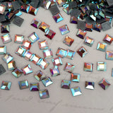 Swarovski Crystal Hotfix Article 2400 4 mm Square Crystal AB