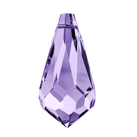 Swarovski® crystal - Article 6000 - TEARDROP - TANZANITE - 11 x 5.5 mm