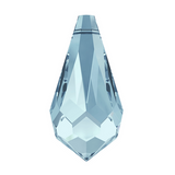 Swarovski® crystal - Article 6000 - TEARDROP - AQUAMARINE - 11 x 5.5 mm
