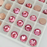 Swarovski Crystals Hotfix Rose Article 2088 XIRIUS Rose pink