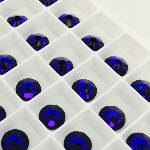 actual photo cobalt blue crystals deep dark electric