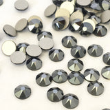 Swarovski® crystal - No Hotfix - Article 2088 - JET HEMATITE - SS20 (4.8 mm)