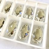 Swarovski® crystal - Article 3230 - DROP - CRYSTAL (clear) - 3 sizes available