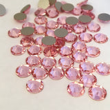 pale blushing pink colour from Swarovski Crystals in Light Rose rhinestones dismantles