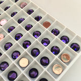 Swarovski® crystal - Hotfix - Article 2078 - PURPLE VELVET - 3 sizes available
