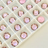 Swarovski® crystal - Hotfix - Article 2078 - VINTAGE ROSE - 3 sizes available