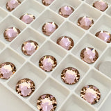 Swarovski® crystal - No Hotfix - Article 2088 - VINTAGE ROSE - 5 sizes available