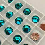 Swarovski® crystal - Hotfix - Article 2078 - BLUE ZIRCON - 3 sizes available