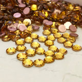 Swarovski® crystal - Hotfix - Article 2078 - SUNFLOWER - 3 sizes available