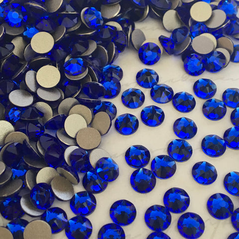 Swarovski® crystal - No Hotfix - Article 2088 - MAJESTIC BLUE - 5 sizes available