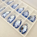 Swarovski® crystal - Article 3230 - DROP - LIGHT SAPPHIRE - 2 sizes available