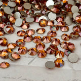 Swarovski® crystal - No Hotfix - Article 2088 - CRYSTAL COPPER - SS20 (4.8 mm)