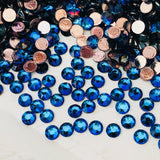 real photo of Swarovski Crystal Hotfix colour Meridian Blue stocked by The Sweetest Bling