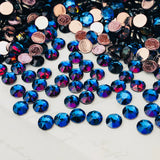 actual image of Swarovski colour effect Meridian blue in Article 2078 Hotfix crystals