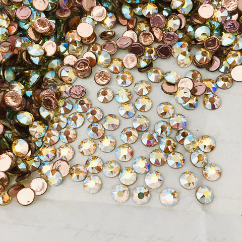 Swarovski® crystal - Hotfix - Article 2078 - Jonquil AB - SS20 (4.8 mm)