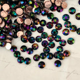 actual photo of Crystal Rainbow Dark from Swarovski hotfix Crystal range