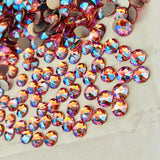 Swarovski® crystal - No Hotfix - Article 2088 - ROSE PEACH SHIMMER - SS20 (4.8 mm)