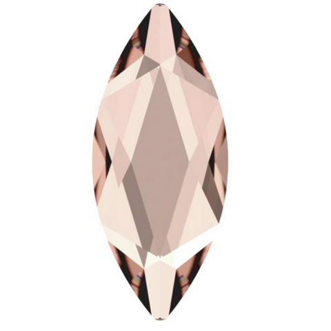 stock photo of Swarovski Crystal Hotfix shapes in Marquise article 2201 Vintage Rose Pink colour