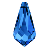 Swarovski® crystal - Article 6000 - TEARDROP - SAPPHIRE - 11 x 5.5 mm