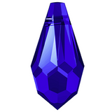 Swarovski® crystal - Article 6000 - TEARDROP - MAJESTIC BLUE - 11 x 5.5 mm