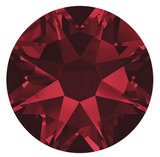 stock photo of Swarovski colour Siam a deep dark blood red