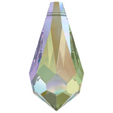 Swarovski® crystal - Article 6000 - TEARDROP - PARADISE SHINE - 11 x 5.5 mm