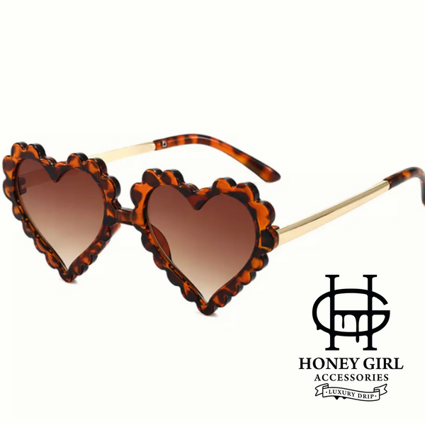 The Alanah Myielle Sunglasses-Brown