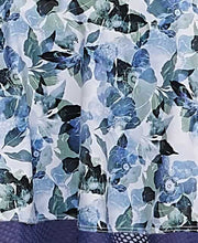 Load image into Gallery viewer, Abstract Floral Navy & Sage