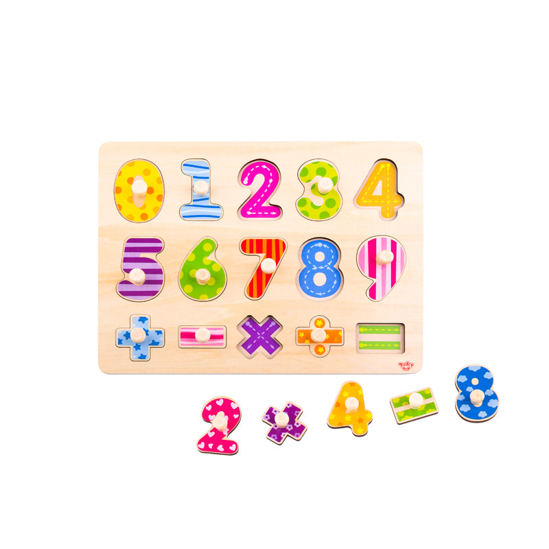 Tooky Toy Wooden Puzzle