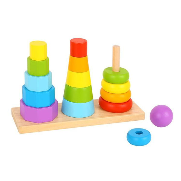 Tooky Toy Shape Tower