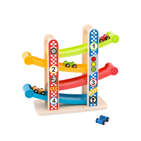 Tooky Toy Sliding Tower for Cars