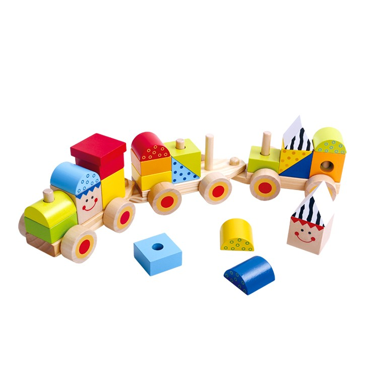 Tooky Toy Stacking Train