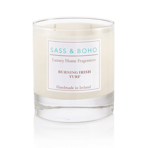 Burning Irish Turf - Double Wick Candle