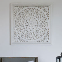 Load image into Gallery viewer, White Carved Panel