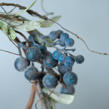 Load image into Gallery viewer, Wild Blueberry Table Wreath