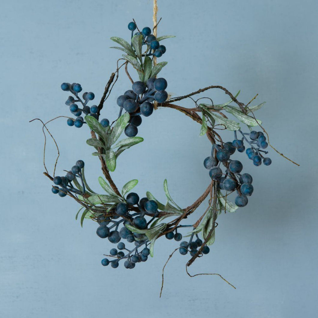 Wild Blueberry Table Wreath