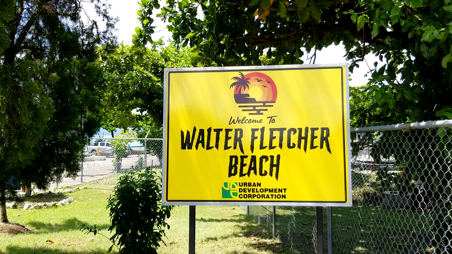 Walter Fletcher Beach or Aquasol