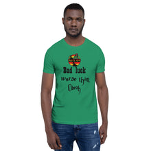 Load image into Gallery viewer, Bad Luck Unisex T-Shirt