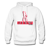 Red Life of The Party Hoodie - Black - white