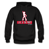 Red Life of The Party Hoodie - black